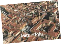 Panorama di Mirandola
