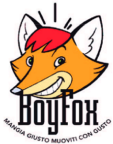 Boy Fox Logo del Progetto Mangia giusto Muoviti con gusto