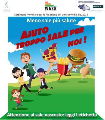 Immagine del poster - Aiuto - Troppo sale per noi!