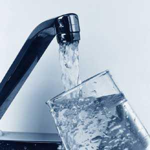 Immagine di un rubinetto per acqua potabile