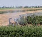 Atomizzatore in fase di dispersione di prodotti fitosanitari