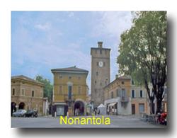 Foto della piazza di Nonantola