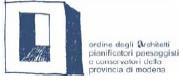 Ordine degli Architetti, pianificatori, paesaggisti e conservatori della provincia di Modena