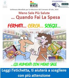 Immagine del poster - Meno sale più salute