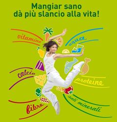 Immagine campagna Mangiar sano dà pià slancio alla vita!