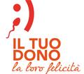 Logo campagna regionale donazione gameti maschili e femminili