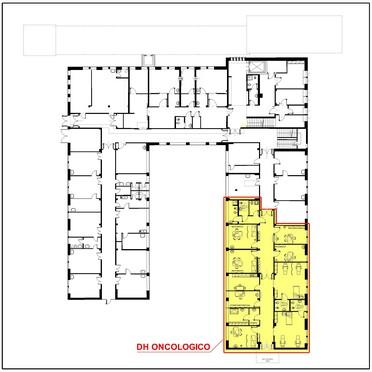 Ausl modena servizio tecnico patrimoniale ospedale s for Planimetria interna