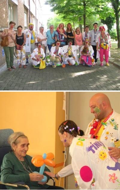 Ausl modena a soliera innovativo progetto di clown for Piccoli piani di casa per gli anziani