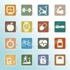 Immagine stilizzata per indicare i materiali atti alla promozione della salute