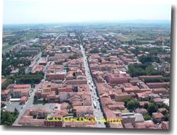 Panorama di Castelfranco Emilia
