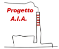 Immagine stilizzata di inceneritore, logo del Progetto AIA