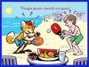 Immagine di Boy Fox che fa sport e consumerà frutta (736.89 KB)