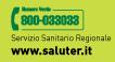 Numero verde regionale 800033033