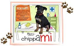"""Immagine della """"Campagna di sensibilizzazione per la registrazione all'anagrafe canina"""""""
