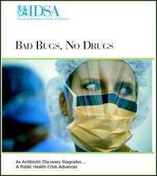 frontespizio della campagna Bad Bugs No Drugs
