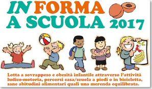 """immagine della locandina """"In forma a scuola 2017"""""""