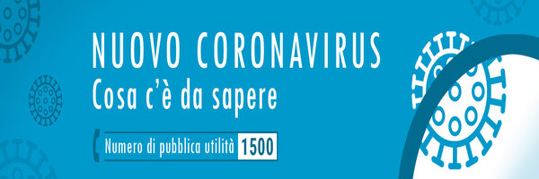 Numero verde Nuovo Coronavirus 1500
